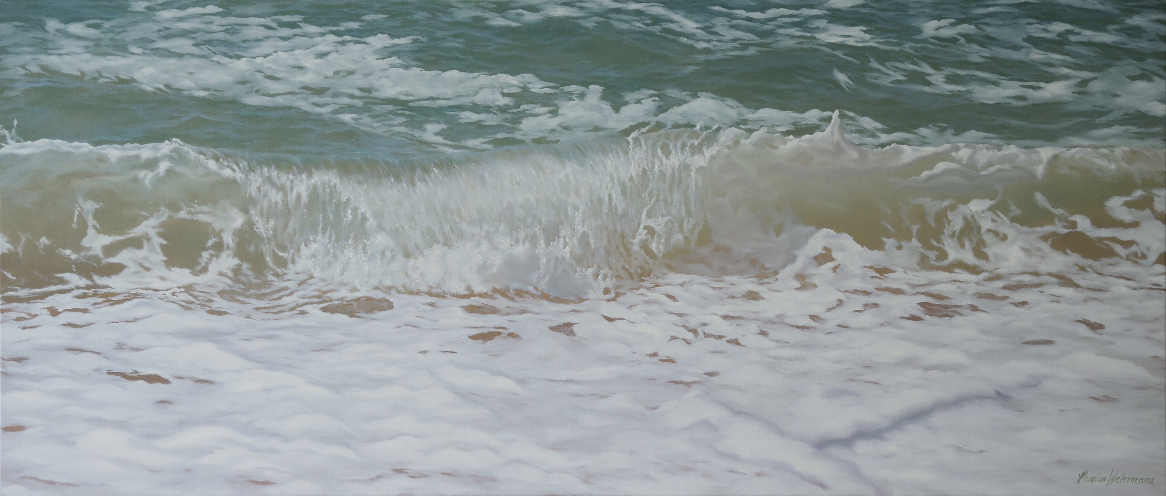 Carolin Wehrmann - West BEach Summer Wave
